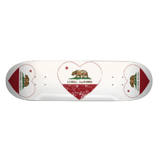 coeur de La Mesa de drapeau de la Californie affli Skateboards Cutomisables