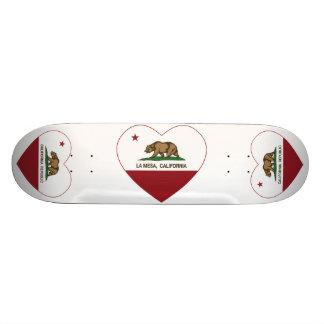 coeur de La Mesa de drapeau de la Californie Planche À Roulette