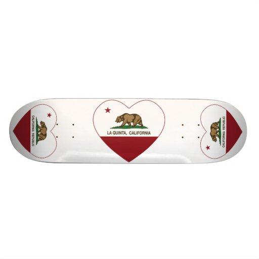 coeur de La Quinta de drapeau de la Californie Plateau De Skateboard