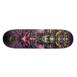 Coeur de la reine de dragon skateboards customisés