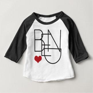 Coeur de l'Orégon de courbure T-shirt Pour Bébé