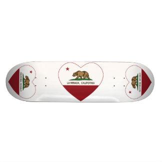 coeur de mirada de La de drapeau de la Californie Planches À Roulettes Customisées