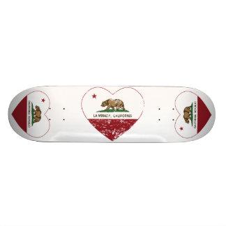 coeur de mirada de La de drapeau de la Californie Planche À Roulette