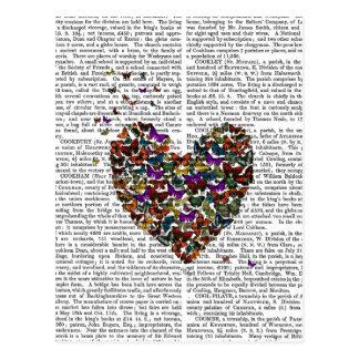 Coeur de papillon carte postale