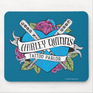 Coeur de salon de tatouage du suicide peloton | tapis de souris