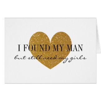 Coeur de scintillement d'or vous serez mes cartes