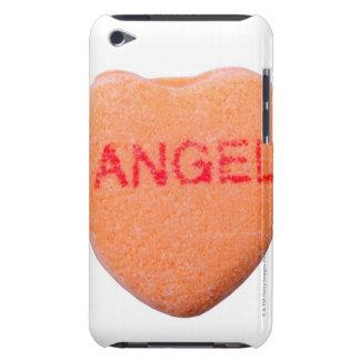 Coeur de sucrerie avec le message étuis barely there iPod