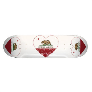 coeur de verne de La de drapeau de la Californie a Skateboard 20,6 Cm