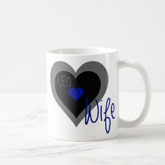 Coeur d'épouse de LION Mug