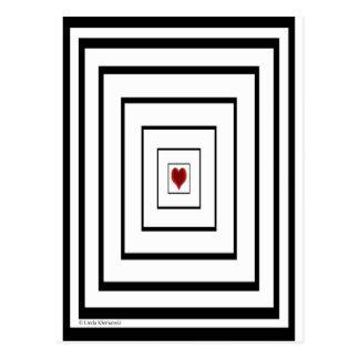 Coeur d'illusion cartes postales