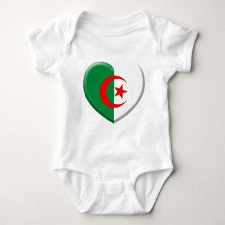 Coeur drapeau Algérie love Body