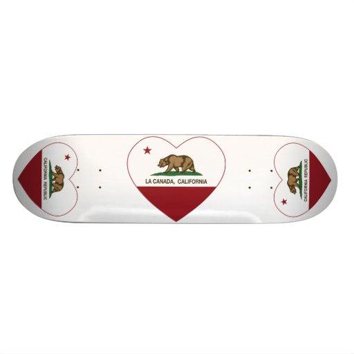 coeur du Canada de La de drapeau de la Californie Planches À Roulettes Customisées