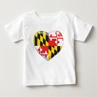 Coeur du Maryland T-shirt Pour Bébé
