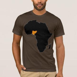 Coeur du Nigéria de l'Afrique T-shirt