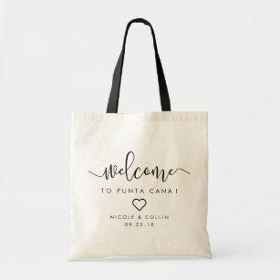 Coeur du sac | d'accueil de mariage de destination