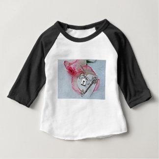 Coeur et clé t-shirt pour bébé