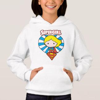 Coeur et logo de Chibi Supergirl Starburst