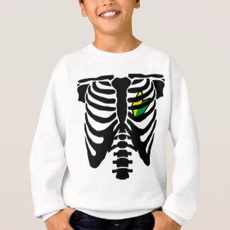 Coeur et nervures de JDM Sweatshirt