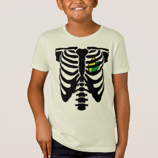 Coeur et nervures de JDM T-Shirt