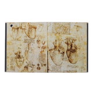 Coeur et son parchemin de vaisseaux sanguins coques iPad