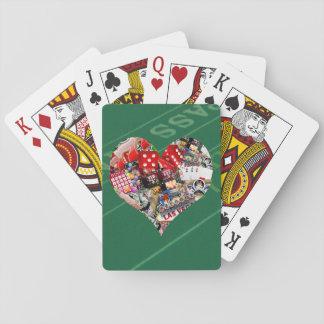 Coeur - forme de carte de jeu de Las Vegas Jeu De Cartes