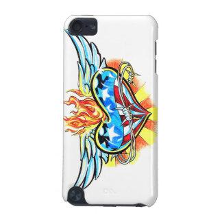 Coeur frais de merveille avec le cas iPod de tatou