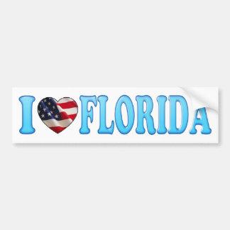 Coeur frais la Floride - adhésif pour pare-chocs d Autocollant Pour Voiture