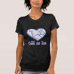 coeur froid de glace t-shirt