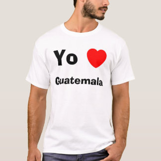Coeur Guatemala de Yo T-shirt