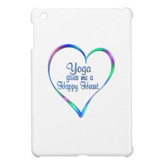 Coeur heureux de yoga étuis iPad mini
