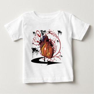 Coeur humain t-shirt pour bébé
