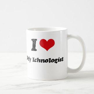 Coeur I mon Ichnologist Tasses