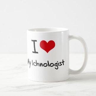 Coeur I mon Ichnologist Tasse