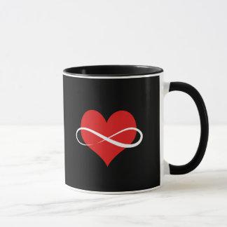 Coeur infini mug