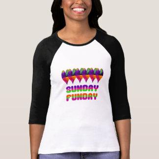 Coeur jamaïcain dimanche Funday T-shirt