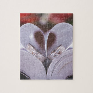 Coeur livresque puzzle