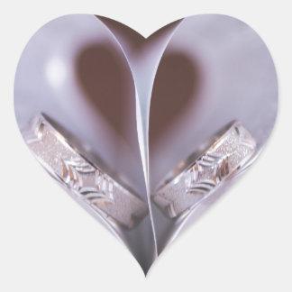Coeur livresque sticker cœur