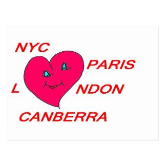COEUR LOVE NYC PARIS LONDON CANBERRA 1.PNG CARTES POSTALES