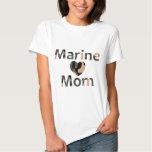 Coeur marin Camo de maman T-shirt