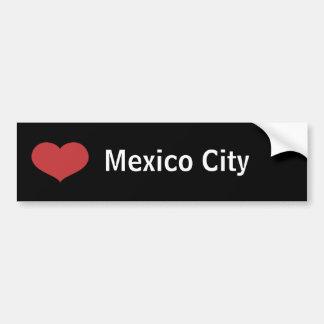Coeur Mexico Autocollant Pour Voiture