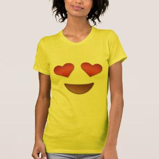 Coeur mignon pour l'emoji de yeux t-shirt