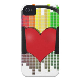 Coeur mordu - transparent coques iPhone 4 Case-Mate