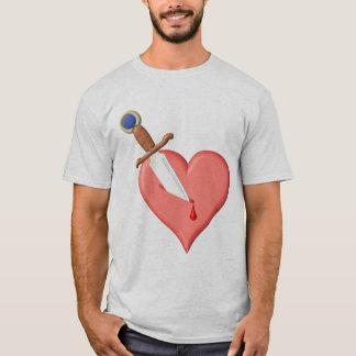 Coeur poignardé t-shirt