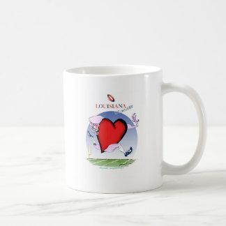 coeur principal de la Louisiane, fernandes Mug