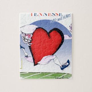 Coeur principal de Tennesse, fernandes élégants Puzzle