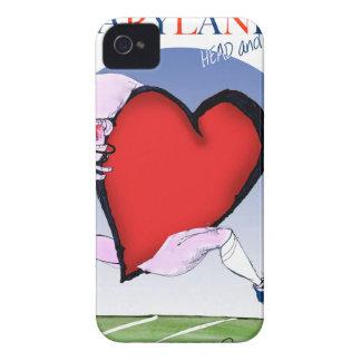 coeur principal du Maryland, fernandes élégants Coques iPhone 4 Case-Mate