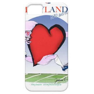 coeur principal du Maryland, fernandes élégants Étui iPhone 5