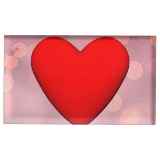 Coeur rouge - 3D rendent Porte-photo