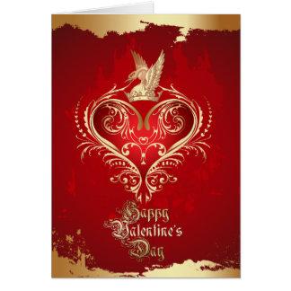 Coeur royal Valentine Cartes De Vœux