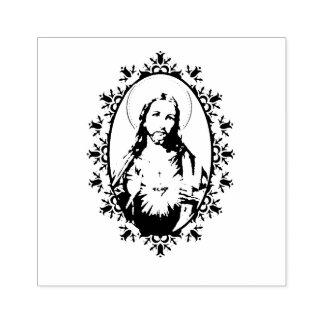 Coeur sacré de frontière décorative de Jésus